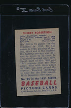 Load image into Gallery viewer, 1951 Bowman  95 Sherry Robertson  VG-EX 12000