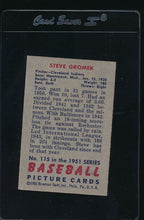 Load image into Gallery viewer, 1951 Bowman  115 Steve Gromek  EX 12021