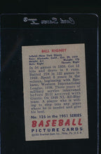 Load image into Gallery viewer, 1951 Bowman  125 Bill Rigney  EX 12057
