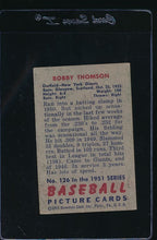Load image into Gallery viewer, 1951 Bowman  126 Bobby Thomson  VG 12060
