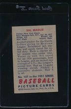 Load image into Gallery viewer, 1951 Bowman  127 Sal Maglie  EX 12062