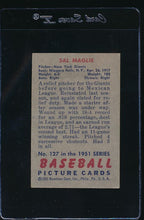 Load image into Gallery viewer, 1951 Bowman  127 Sal Maglie  VG-EX 12063