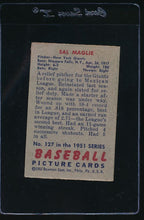 Load image into Gallery viewer, 1951 Bowman 127 Sal Maglie G 12064