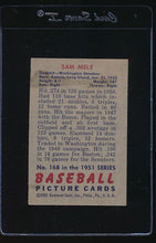 Load image into Gallery viewer, 1951 Bowman  168 Sam Mele  VG-EX 12114