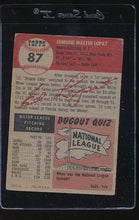 Load image into Gallery viewer, 1953 Topps  87 Ed Lopat  G 12133