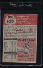 Load image into Gallery viewer, 1953 Topps  109 Alvin Dark  VG 12136