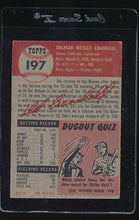 Load image into Gallery viewer, 1953 Topps  197 Del Crandall  VG 12145