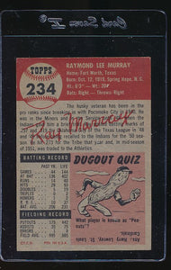 1953 Topps  234 Ray Murray High# VG-EX 12151