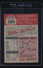 Load image into Gallery viewer, 1953 Topps  280 Milt Bolling High# G/VG 12156