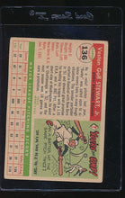 Load image into Gallery viewer, 1955 Topps  136 Veston (Bunky) Stewart RC G 12179