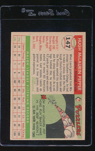 1955 Topps  147 Hugh Pepper RC VG-EX 12180