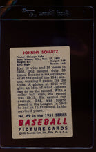 Load image into Gallery viewer, 1951 Bowman  69 Johnny Schmitz   G 12303