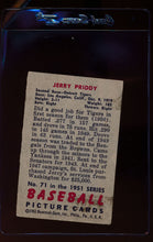 Load image into Gallery viewer, 1951 Bowman  71 Jerry Priddy   VG 12304