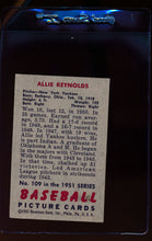 Load image into Gallery viewer, 1951 Bowman  109 Allie Reynolds   EX 12310