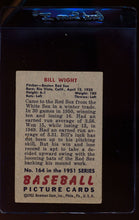 Load image into Gallery viewer, 1951 Bowman  164 Bill Wight   VG 12323