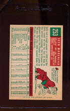 Load image into Gallery viewer, 1959 Topps  253 Seth Morehead RC G 12410