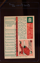 Load image into Gallery viewer, 1959 Topps  409 Gus Zernial  VG-EX 12420