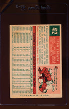 Load image into Gallery viewer, 1959 Topps  412 Stan Lopata  VG 12421
