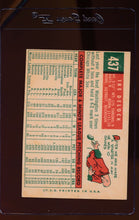 Load image into Gallery viewer, 1959 Topps  437 Ike Delock  VG 12424