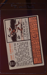 1962 Topps  222 Jerry Zimmerman  VG 12482