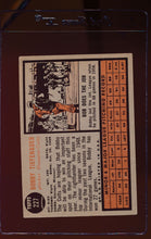 Load image into Gallery viewer, 1962 Topps  227 Bob Tiefenauer  VG-EX 12483