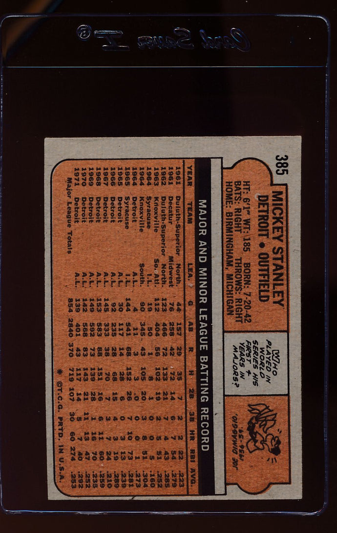 1972 Topps  372 Rookie Stars/Lance Clemons RC/Monty Montgomery RC  EX-MT (MC) 12582