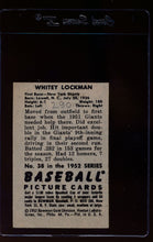 Load image into Gallery viewer, 1952 Bowman  38 Whitey Lockman  VG-EX 12619