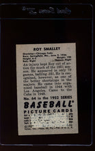 Load image into Gallery viewer, 1952 Bowman  64 Roy Smalley  P 12627