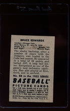 Load image into Gallery viewer, 1952 Bowman  88 Bruce Edwards  VG-EX 12636