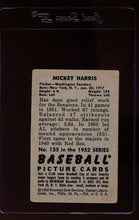 Load image into Gallery viewer, 1952 Bowman  135 Mickey Harris  G 12649
