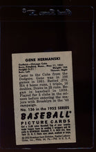 Load image into Gallery viewer, 1952 Bowman  136 Gene Hermanski  EX 12650