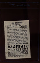 Load image into Gallery viewer, 1952 Bowman  157 Jim Delsing  G 12656