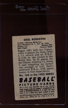 Load image into Gallery viewer, 1952 Bowman  165 Saul Rogovin RC  G 12658