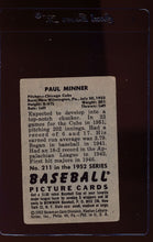 Load image into Gallery viewer, 1952 Bowman  211 Paul Minner RC  G 12671