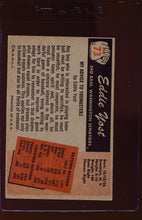 Load image into Gallery viewer, 1955 Bowman  73 Eddie Yost  VG 12741