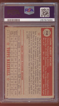 Load image into Gallery viewer, 1952 Topps  358 John Kucab  PSA 7 NM 12944