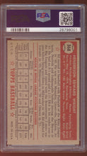 Load image into Gallery viewer, 1952 Topps  368 Ed Wright  PSA 6 EX-MT 12950