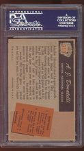 Load image into Gallery viewer, 1955 Bowman  313 A.J. Donatelli  PSA 6 EX-MT 12978