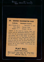 Load image into Gallery viewer, 1941 Play Ball  69 George Case  VG-EX 13076