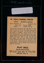 Load image into Gallery viewer, 1941 Play Ball  48 Cecil Travis  VG-EX 13087