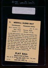 Load image into Gallery viewer, 1941 Play Ball  9 Pinky May  EX 13120