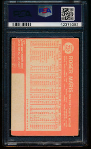 1964 Topps  225 Roger Maris Auto PSA/DNA Authentic 13278