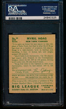 Load image into Gallery viewer, 1934 Goudey  95 Myril Hoag  PSA 5.5 EX+ 13288