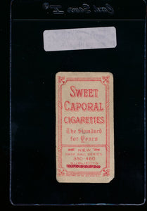 1909-1911 t206 Sweet Caporal 350-460 Fact. 42 Overprint  Cy Seymourx (Hands on Knees) PR 13302