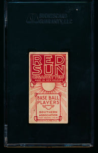 1910 T211 Red Sun   Dick Bayless  SGC 20/1.5 Fair 13341