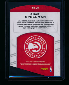 2018-19 Panini Crown Royale Rookie Royalty 29 Omari Spellman RC, /99 NM-MT+ 13358