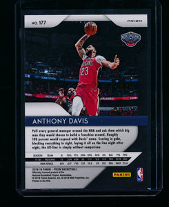 2018-19 Panini Prizm Silver 177 Anthony Davis  NM-MT+ 13395