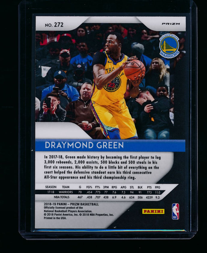 2018-19 Panini Prizm Red Wave 272 Draymond Green  NM-MT+ 13406