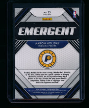 Load image into Gallery viewer, 2018-19 Panini Prizm Emergent Green 23 Aaron Holiday RC NM-MT+ 13412