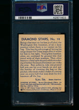 Load image into Gallery viewer, 1935 Diamond Stars  78 Joe Kuhel Blue Back PSA 6 EX-MT 13434
